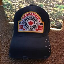 ***100% New Dsquared2  Baseball Cap  Made in italy ***