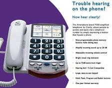 Photo Telephone, Amplified, Speed Dial, Loud Bright Ringer Hearing Volume Phone