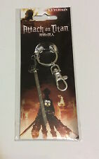ATTACK ON TITAN, SHINGEKI NO KYOJIN, 3-D MANEUVER METAL SWORD KEYCHAIN, NIP