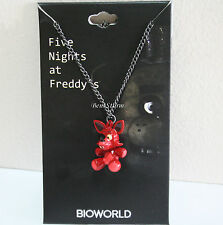 NEW Five Nights at Freddy's 3-D FOXY FOX EYE PATCH Metal charm pendant necklace