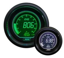 PROSPORT 52mm EVO Series Digital Green White Led Exhaust Gas Temperature Gauge F