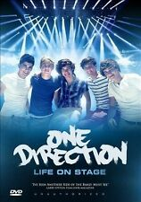 New & Sealed One Direction 1D 1 Direction Life On Stage DVD