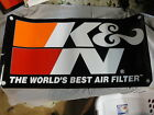 """K&N The World's Best Air Filter Pair of Trailer Size Stickers!! 15X30"""""""