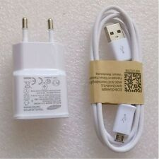 EU Original Wall Charger+USB Data Cable For SamSung Galaxy Note 2 II N7100 S3 S4