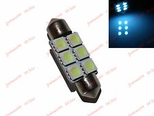 Festoon Bulb 36mm 6 SMD 5050 LED C5w  ICE BLUE  90 lm Courtesy Cabin Light Boat