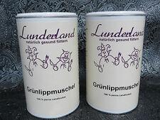 (1kg/90,50€) 2 x 500,o Lunderland Grünlippmuschel Pulver+ 1 Gratis Dosierlöffel