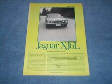 "1979 Jaguar XJ6L Vintage Road Test Info Article ""So Good it's Probably Normal"""