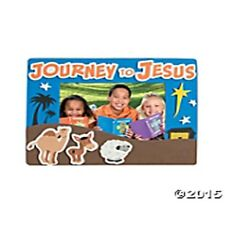 """Journey To Jesus"" Picture Frame Magnet Craft Kit FREE SHIP U.S. - NEW"