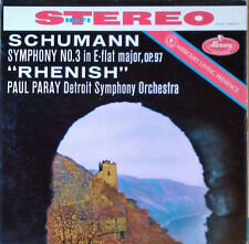 SCHUMANN / SYMPHONY NO. 3 - PAUL PARAY - MERCURY 90133  - LIVING PRESENCE
