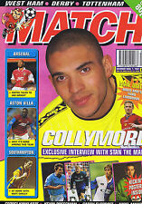 COLLYMORE / ARSENAL / ASTON VILLA / SOUTHAMPTON Match   1 Mar 1997