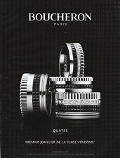 """Publicité Contemporaine """" Bijou Boucheron Joaillerie  2013 ( P. 19 )"""