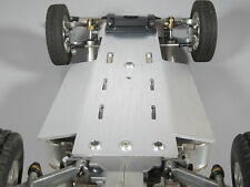 New Aluminum Chassis Bottom Plate Tamiya 1/10 RC Super Champ Buggy Sand Scorcher