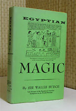 OCCULT: EGYPTIAN MAGIC, E. A. Wallace Budge, Egypt, Illustrated‏    Book