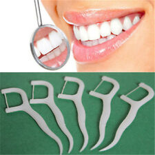 100 ULTRA Floss Picks Toothpick Total Tooth Oral Care Remove Plaque AC