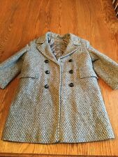 Boys Winter Wool Dress Coat Size 6