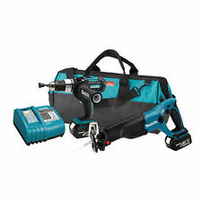 Makita LXT221 18V LXT Lithium-Ion 2-Piece Kit W/ Hammer Drill/Driver / Sawzall