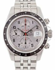 Rolex Tudor Tiger Prince Chronograph 79260 Silver Dial Automatic 40mm