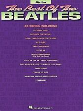Best of the Beatles for ALTO SAX Songbook Sheet Music Song Book