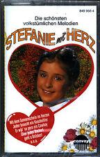 Stefanie mit Herz - Stefanie Hertel - Musik-Kassette von 1993 Neu und OVP