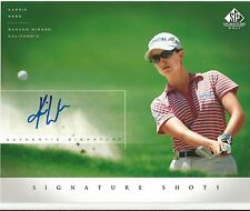 KARRIE WEBB Autograph / Signed 8 x 10 LPGA Photo 2004 SP Signature Golf UD COA