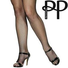 PRETTY POLLY WOMENS LADIES BLACK SPOT FISHNET TIGHTS SEXY STOCKINGS ONE SIZE