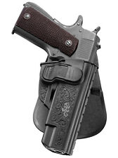 Fobus Holster Roto Paddle Remington 1911 R1 9mm .45cal Without Rails Right New