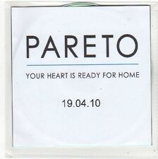 (FO36) Pareto, Your Heart Is Ready For Home - 2010 DJ CD