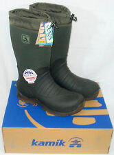 """14 M KAMIK COLDCREEK 16"""" Outdoor Hunting Pull-on Boots Waterproof Insulated"""