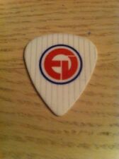 Eddie Vedder Guitar Pick_Pearl Jam_Chicago Cubs Wrigley Field Logo