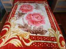 Home Fashion Heavy Double Face Super Soft Silk Touch Queen Mink Blanket 10.6 LB.