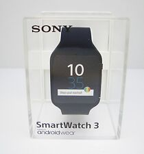 Sony SmartWatch 3 SWR50 Android 4.3 NFC IP68 GPS 4 GB - Retail Box - Black