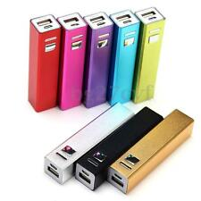 UNIVERSALE POWER BANK CASO BATTERIA ESTERNA USB 2600MAh PER IPHONE SAMSUNG