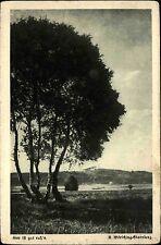 Bayern AK ~1920/30 Landschaft mit Baum Hier ist gut ruhn Heimatkarte 326 Kunst