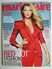 BLAKE LIVELY  July 2012 MARIE CLAIRE Magazine
