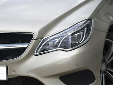 Mercedes W207 E Class Coupe Cabriolet Chrome Headlamp Surrounds FROM 05/2013