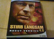 Stirb Langsam1- 4  Ohne Recut DVD ( 4Teil in Kinoversion Teil 1-3 uncut DVD)
