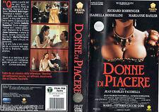 Donne di piacere (1991) VHS Penta Video - Isabella Rossellini Marianne Bosler