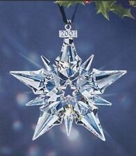 *NIB* 2001 LARGE SWAROVSKI CRYSTAL CHRISTMAS ORNAMENT STAR/SNOWFLAKE #267941