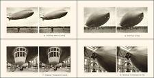 32 Stereofotos Luftschiff - Airship Hindenburg LZ 129