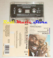 MC LOUIS ARMSTRONG What a wonderful world 1988 italy MCA MCC 01876 cd lp dvd*vhs