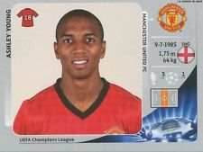 N°527 YOUNG # ENGLAND MANCHESTER UNITED CHAMPIONS LEAGUE 2013 STICKER PANINI