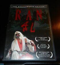 Ran (DVD, 2003, Masterworks Edition Digitally Restored Hi-Def Transfer)