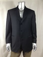 $1995 CANALI Men`s Multi-color Striped Made In Italy Sport Coat Sz 44R