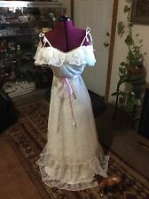 Vintage Hippy BoHo Wedding Dress