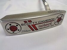 "Used RH Titleist Scotty Cameron Select Newport 2.5 35"" Putter RH"