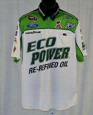 2014 Ricky Stenhouse Ford EcoPower Roush NASCAR Pit Crew Shirt medium