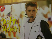 Justin Bieber, One Direction, Double Two Page Centerfold Poster
