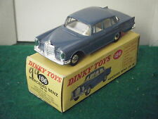 "Dinky No: 186 ""Mercedes 220SE Saloon"" - Pale Blue (Boxed)"