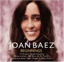 CD JOAN BAEZ BEGINNINGS BANKS OF OHIO SILVER DAGGER WAGONER'S LAD ALL MY TRIALS