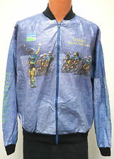 vtg TEAM SHAKLEE LAVENDER Tyvek Windbreaker LARGE 90s cycling bicycles jacket L